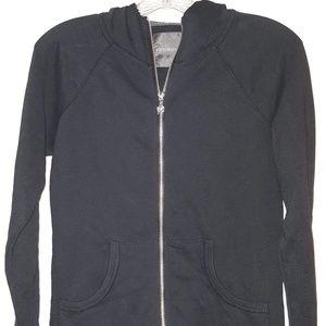 VS PINK Zip up hooded light weight sweatshirt
